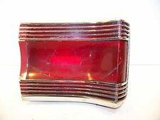 1967 PLYMOUTH GTX RH TAIL LIGHT LENS & HOUSING COMPLETE OEM