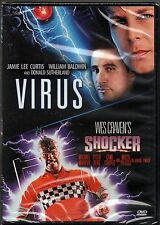 Shocker (DVD, 1999, Widescreen) Peter Berg, Mitch Pileggi Director Wes Craven