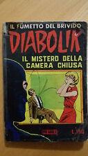 DIABOLIK seconda serie n.2 / 1965 Il mistero della camera chiusa Sodip ORIGINALE