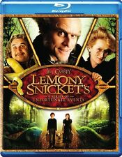 LEMONY SNICKET'S A SERIES OF UNFORTUNATE EVENTS New Sealed Blu-ray Jim Carrey