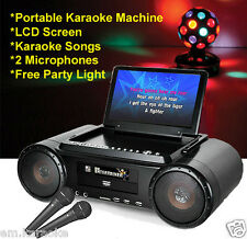MR Entertainer PARTY BOX KARAOKE COMPUTER Con Costruito In Schermo LCD