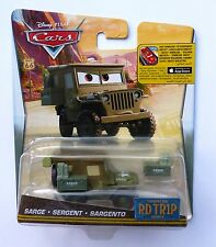 Disney Pixar Cars  ROAD TRIP SARGE Very Rare UK Over 100 Cars Listed !!