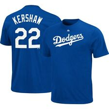 NWT Clayton Kershaw Los Angeles Dodgers Majestic Jersey Shirt Size Mens Large