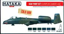 Hataka Hobby Paints U.S. AIR FORCE EUROPEAN CAMOUFLAGE Acrylic Paint Set