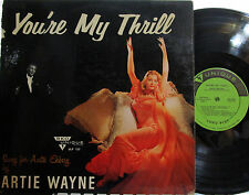 Anita Ekberg (cover of) You're My Thrill  (sung by Artie Wayne) (Mono) (RKO 123)