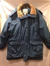 Men's LL Bean Timberline Parka Blue/Green Goose Down Parka XL