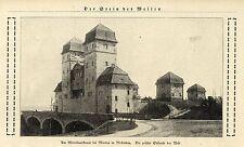 Die größte Schleuse der Welt (Mittellandkanal Minden) Historische Aufnahme 1924