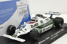 FLY 055106B WILLIAMS FW07 CARLOS REUTEMANN GP ARGENTINA 1980 NEW 1/32 SLOT CAR
