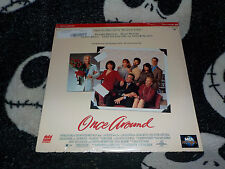 Once Around NEW SEALED Laserdisc LD Richard Dreyfuss Holly Hunter Free Ship $30