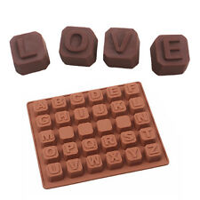 Love Letter Chocolate Silicone Mold Fondant Sugarcraft Kitchen Candy Moulds