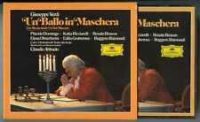 2 CDs box Claudio ABBADO : Verdi Un Ballo in Maschera / DGG Germany full silver