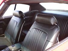 1971-1972 CHEVELLE HARDTOP DELUXE BUCKET SEAT INTERIOR KIT BLACK