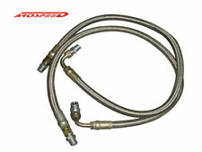 SALE 2 x HIGH OIL BRAIDED LINE FOR OIL COOLER KIT TURBO NA PERFORMANCE