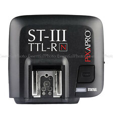 PRO ST-III N 2.4GHz Radio TTL Flash Receiver Only (For Nikon)