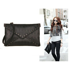 Women Shoulder Bags Party Lunch Bag Black Skull Clutch Crossbody Handbag
