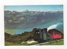 Brienz Rothorn Bahn Brienzersee & Berner Alpen Postcard Switzerland 598a