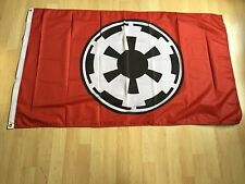 Star Wars Galactic Empire Red  3'x5' Black Flag Banner Darth Vader  Wall Deco