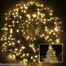 500Leds 100M Warm White String Fairy Lights Party Wedding Christmas Tree Outdoor