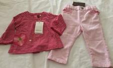 CATIMINI Baby Girls 6mths L/S Top & Jeans Outfit/Set - 2pce - NWT *So Cute!*