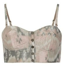 ALL SAINTS IKAT PASTEL NAVAJO PRINT BRA TOP 14 42 £70!