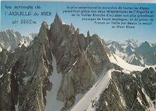 BF19606 panorama sur le massif de  chamonix mont blanc  france  front/back image