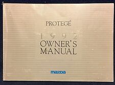 1992 MAZDA PROTEGE OWNERS MANUAL BOOK + FREE SHIPPING
