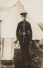 Pte  Middlesex Regiment territorial in full dress at camp