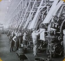 Printing Room in Cotton Mills, Lawrence, Massachusetts,Magic Lantern Glass Slide