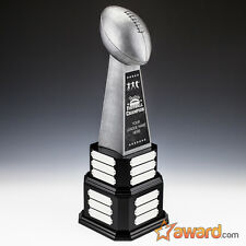 "Fantasy Football Trophy Perpetual - 24 Years - 22""- Free Engraving- Ships 1 Day"
