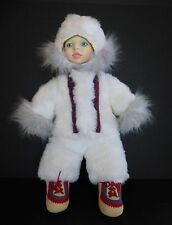 LITTLE BOY DOLL IN LAPLAND ESKIMO FUR OUTFIT, B. ALTMAN'S, NEW YORK, RETIRED
