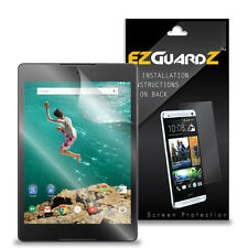 2X EZguardz NEW Screen Protector Skin Cover Shield HD 2X For HTC Nexus 9 Tablet