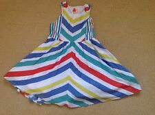 New With Tags Multi Coloured Sleeveless Dress By Next In Size Age 4 To 5 Years