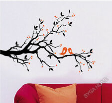 Tree With Birds Wall Stickers,Wall Decals J_7051