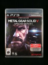 Metal Gear Solid V : Ground Zeroes (Playstation 3) BRAND NEW