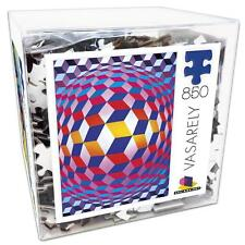 CEACO JIGSAW PUZZLE MODERN ART GLOBE WITH SPHERES, 1973 VASARELY 850 PCS