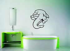 Wall Stickers Vinyl Decal Strong Dolphin Marine For Bathroom ig1510