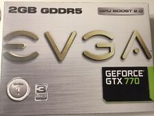 eVGA NVIDIA GeForce GTX 770 (2048 MB) (02GP42774KR) Graphics Card