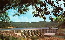 Postcard Little Tennessee River Chilhowee Dam Blount & Monroe Counties MINT 1963
