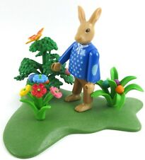 PLAYMOBIL~Easter~Rabbit~Father~Hiding Eggs~Scenery~Flowers~Butterfly~EPC~21