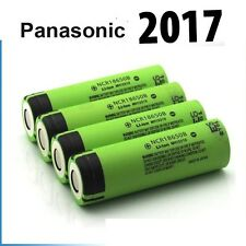 4 x Genuine Panasonic 18650 3400mAh Rechargeable Battery NCR18650B Li-ion Vape ""