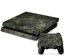 Camouflage Skin Sticker For PS4 Playstation 4 Console Controller Decal Vinyl