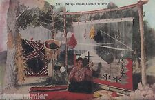 Navajo Indian Blanket Weaver AK Native Indians Indianer USA 1607234
