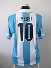 Lionel MESSI #10 Argentina Home Football Shirt Jersey 2012/13 (L)