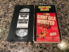 The Giant Gila Monster VHS! 1959 Reptile Rampage! The Killer Shrews Eegah
