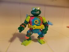 TEENAGE MUTANT NINJA TURTLES TMNT 1990 SEWER SURFIN MIKE PLAYMATES FIGURE BELT