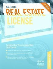 Master the Real Estate License Examinations by Peterson's Guides Staff (2010,...