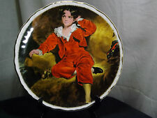 James Kent, Old Foley Collector's Plate The Red Boy By Sir Thomas Lawrence