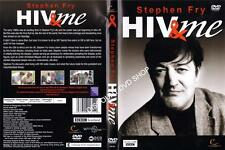 STEPHEN FRY-HIV AND ME. NEW DVD.