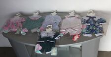 VINTAGE RARE# COROLLE DOLL POUPEES TODDLER & BABY LOT 6x DRESS OUFITS#SEALED