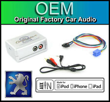 Peugeot 206 AUX in lead Car stereo iPod iPhone player adapter connection kit